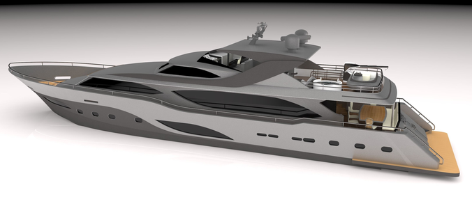 yacht-32meter-3d-model-obj-3ds-c4d-3dm